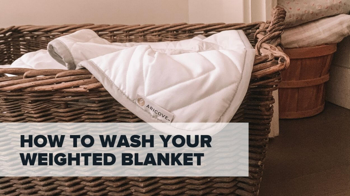 How To Wash A Weighted Blanket: Tips and Tricks