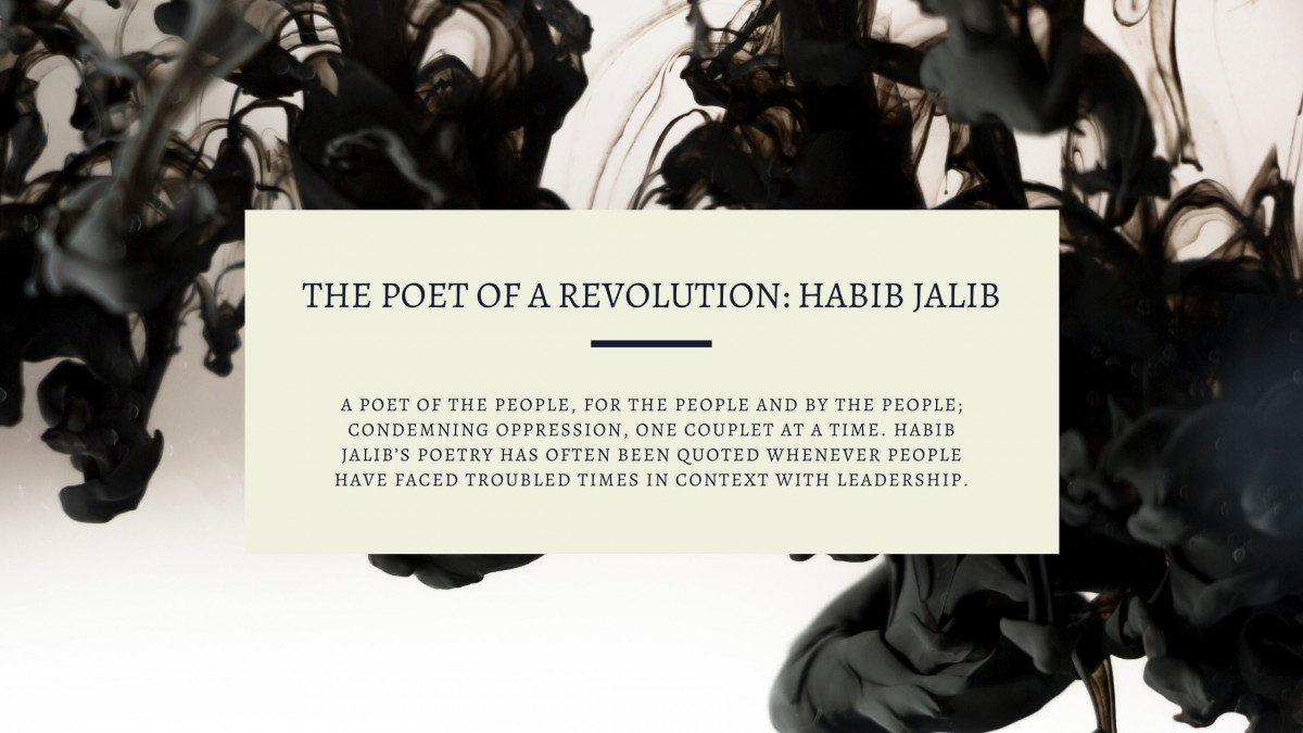 The Poet Of A Revolution: Habib Jalib