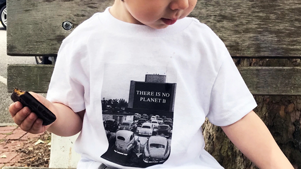 """There is No Planet B."" Our Toddler Tees."