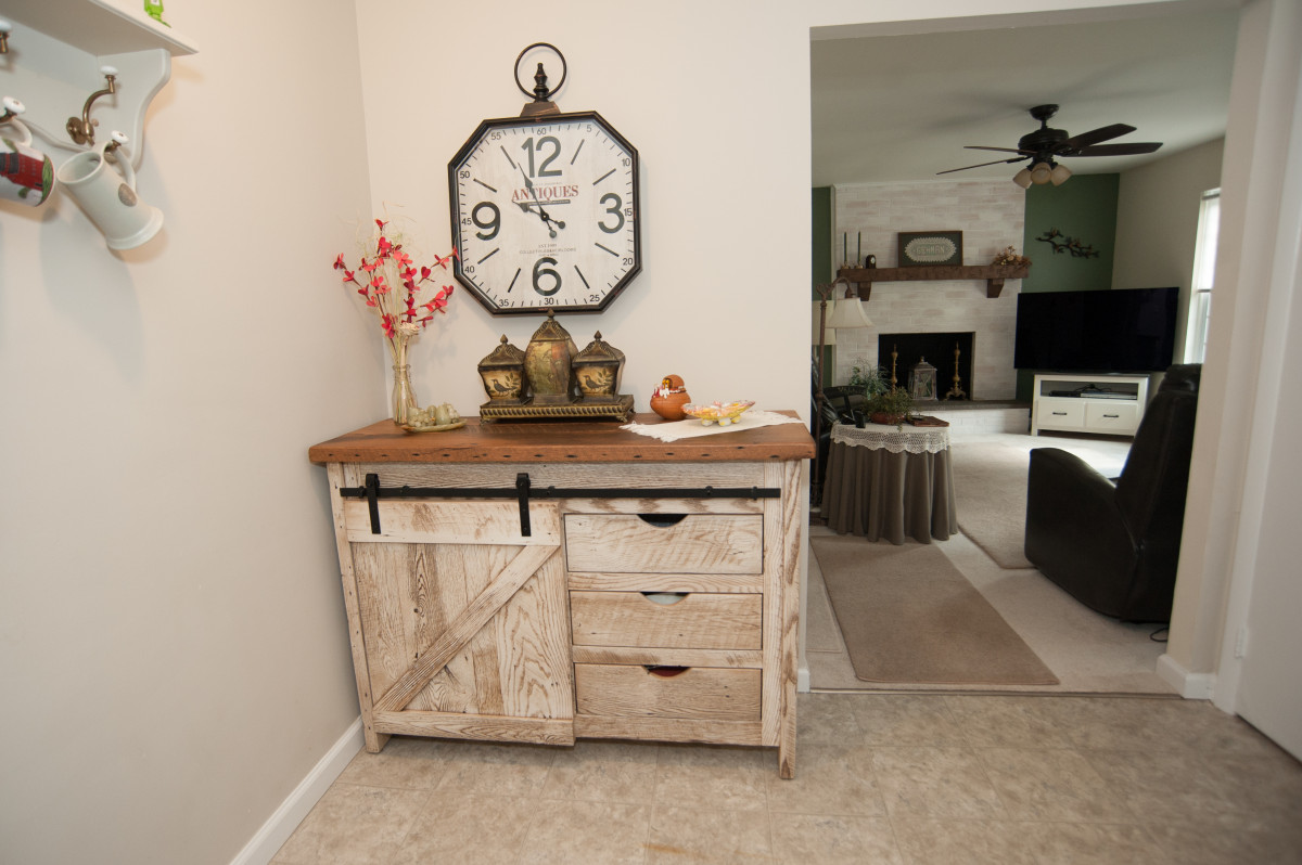 Downsize and Refresh: Traditional Home with a Rustic Twist