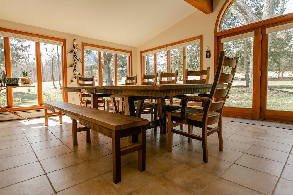 Rustic Dining: Bringing the Outdoors Inside