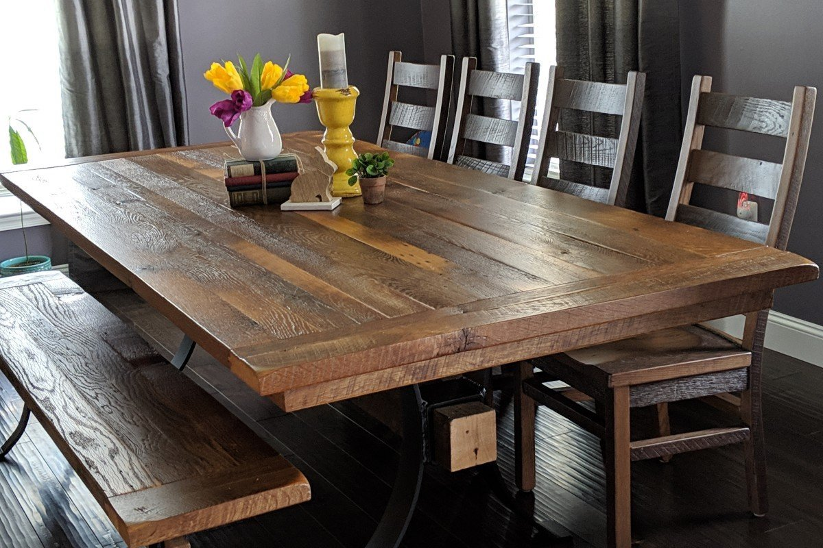 Top 6 Reclaimed Wood Dining Tables