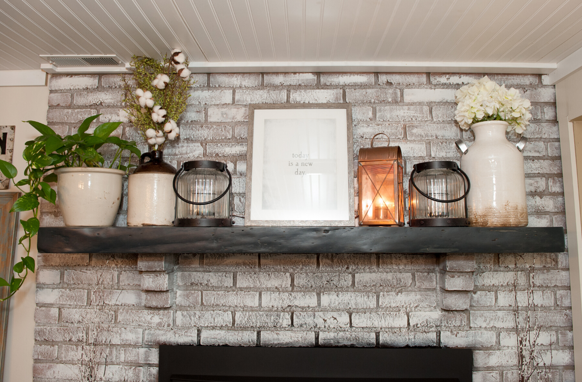 10 Unique Fireplace Mantel Ideas