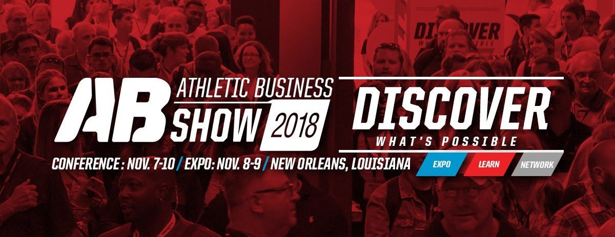 The 2018 Athletic Business Show Expo in the New Orleans - Visit us at Booth 1339
