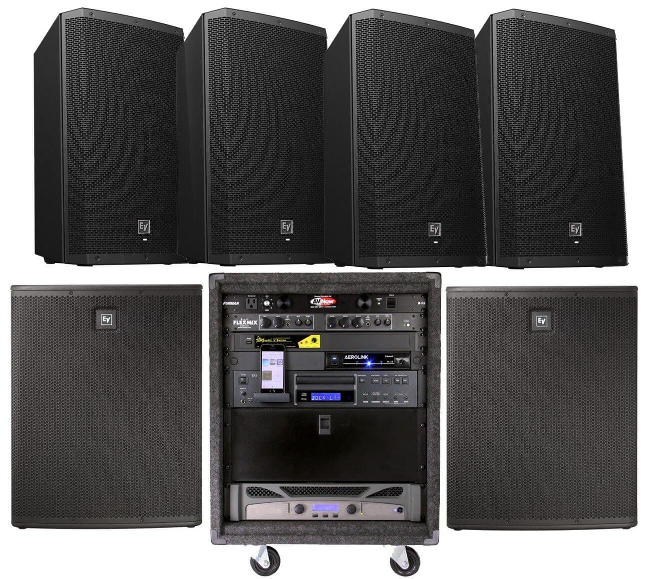 AV Now Tech Corner: Fitness Sound Equipment Rack