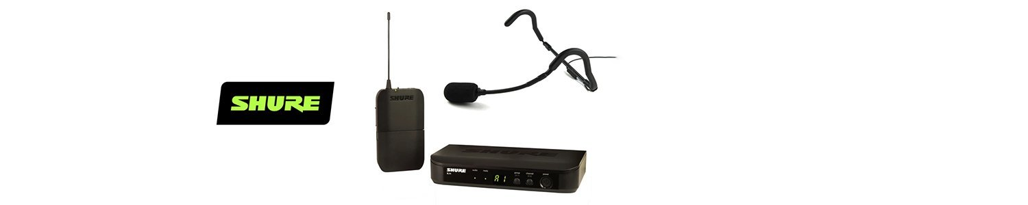 Shure BLX Series UHF Wireless Microphone System - Includes E-mic Headset