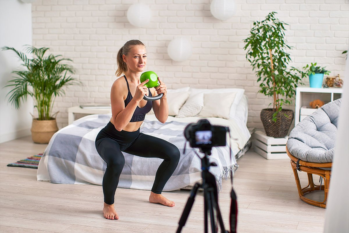 The Online Fitness Coach of Today & The Essential Equipment Needed To Host an Epic Virtual Fitness Class