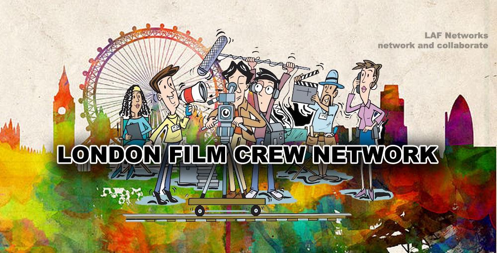 Facebook London film crew network