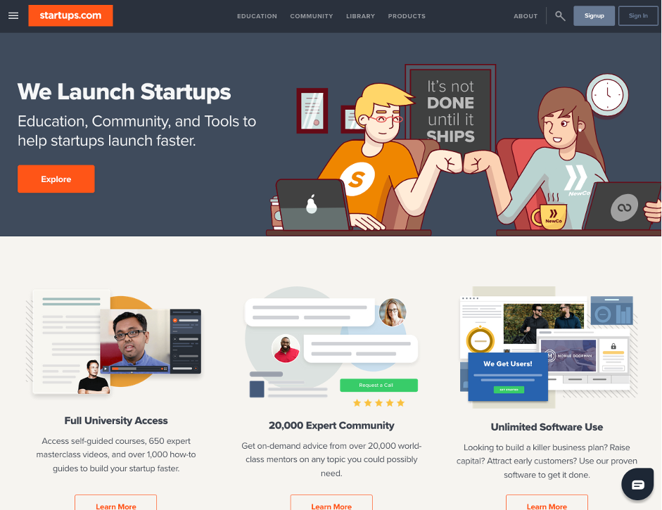we launch startups