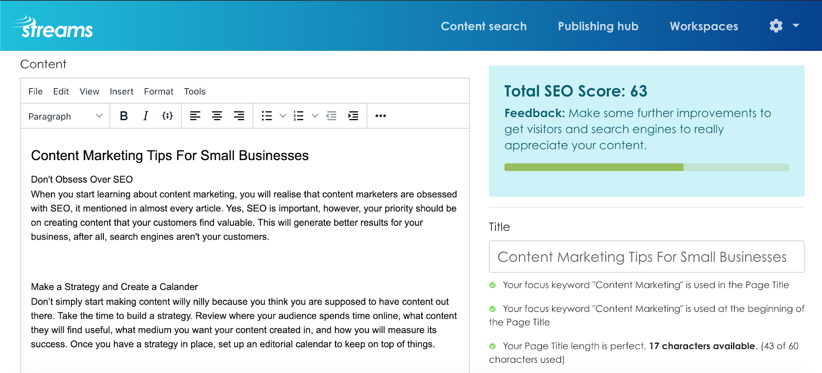 Content marketing tools for small businesses, content marketing tips for small businesses, small business content marketing trends