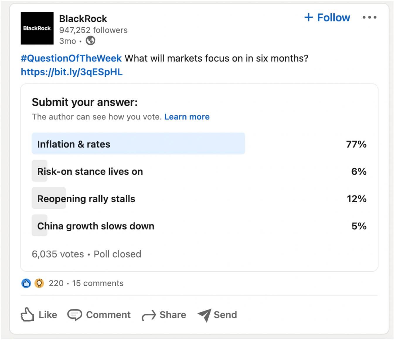 Linkedin in content marketing