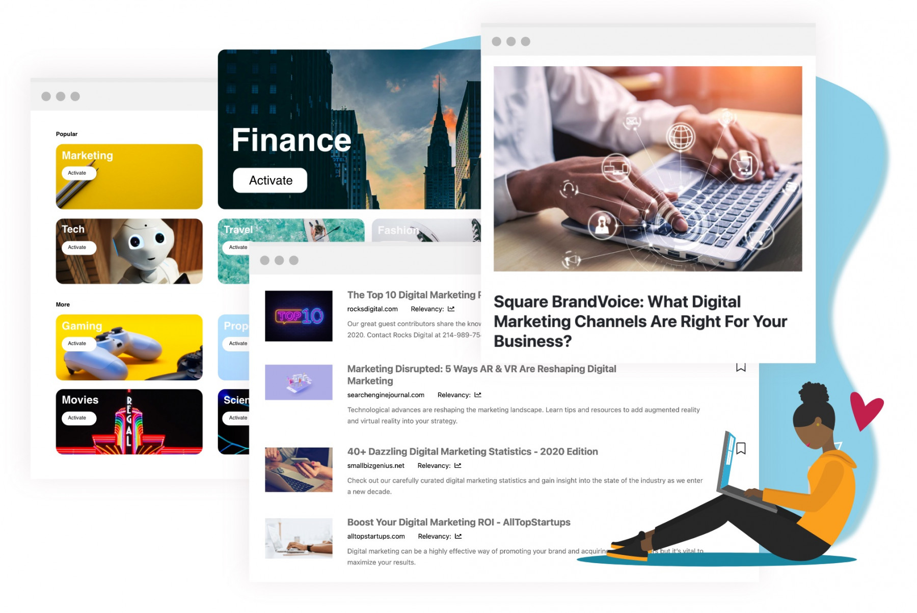 Streams New Platform Content Curation Tool