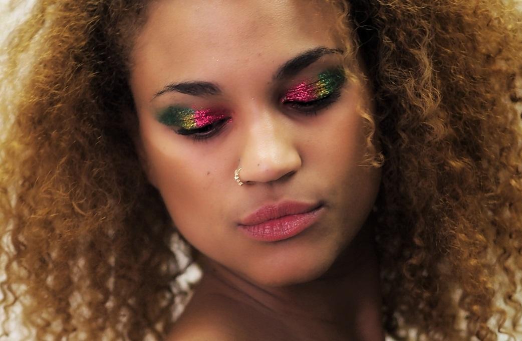 multicolored fall eyeshadow