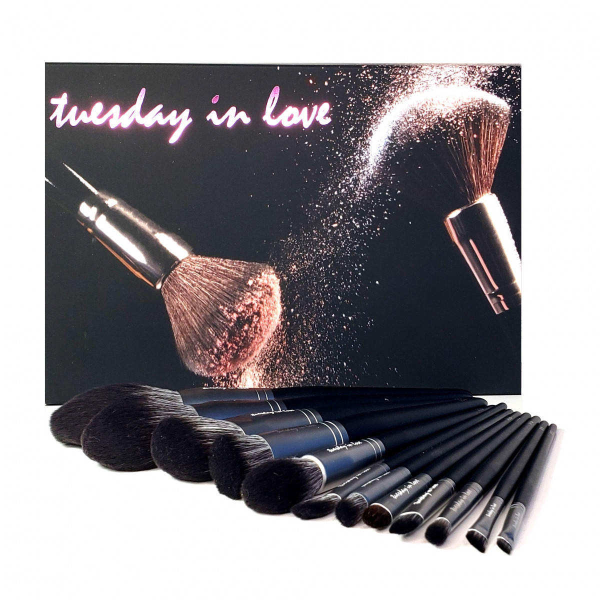 Halal Makeup Brushes by Tuesday in Love