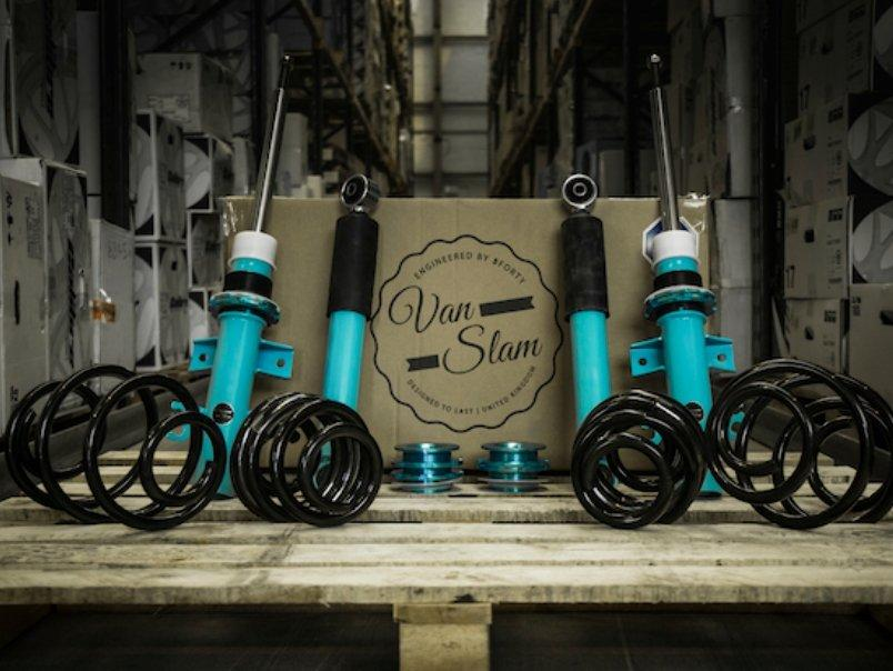 VW T6 Coilovers for your custom van conversion