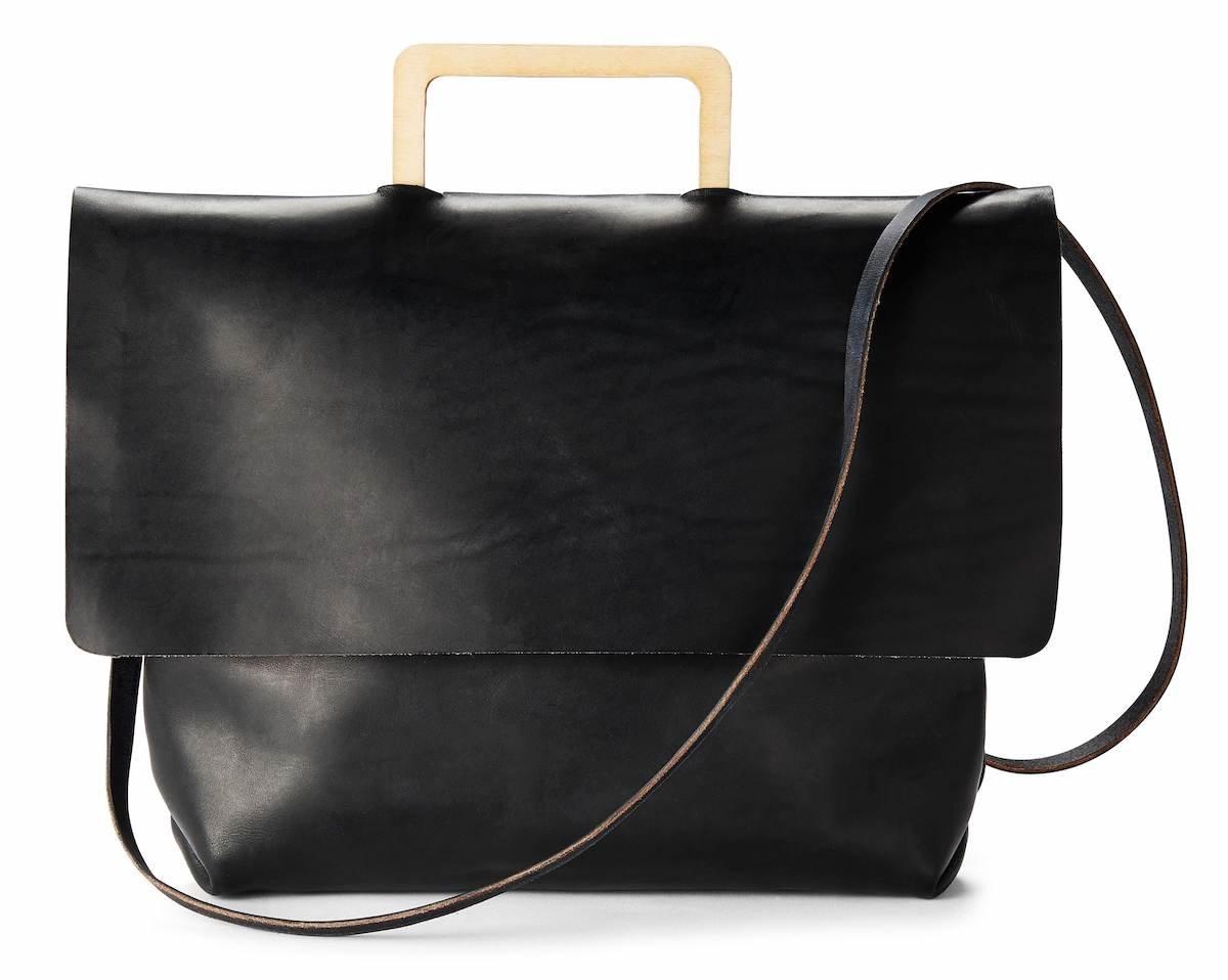 anatomy of a handbag - norma handbag with plywood handle