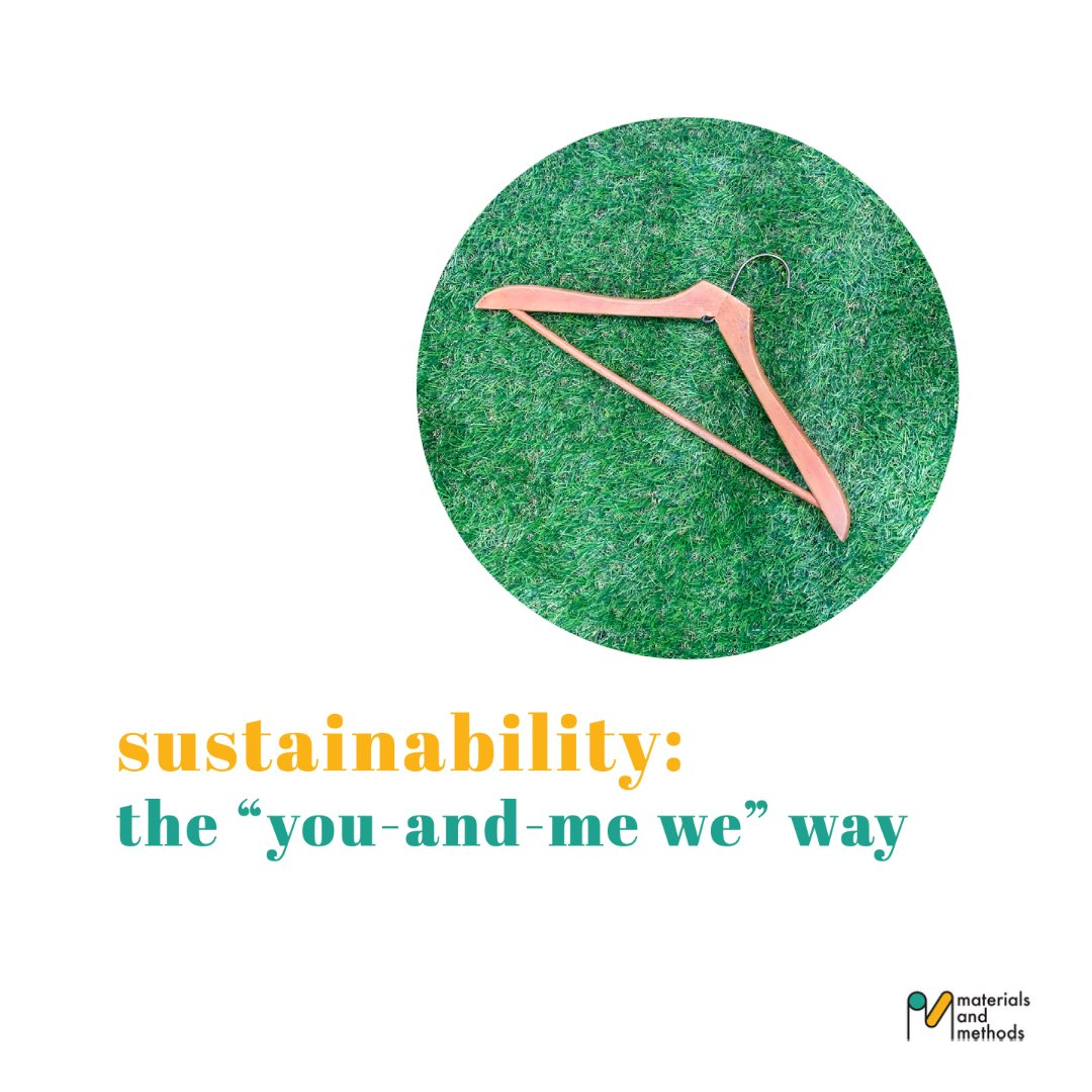"""sustainability: the """"you-and-me we"""" way"""