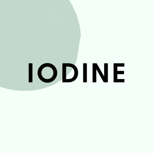 Iodine Deficiency and Weight Gain