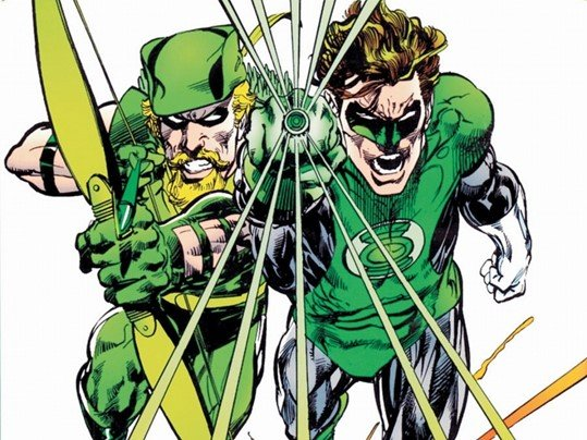 Image of Green Arrow and Green Lantern - Animated Apparel Company