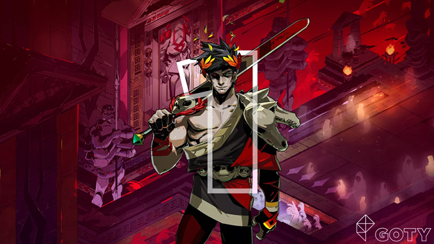Image of character from the video game Hades - Animated Apparel Company