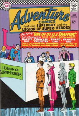 Adventure Comics #346 by Jim Shooter - Animated Apparel Company