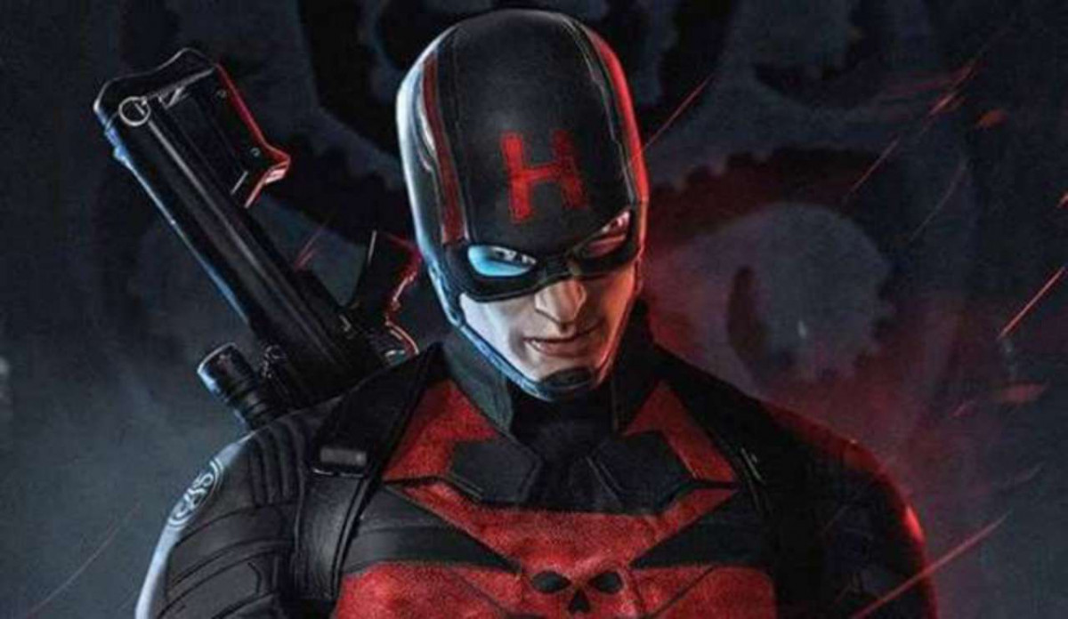 Image of Captain America in Hydra Outfit - Animated Apparel Company