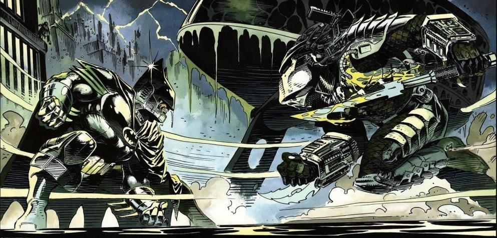 Batman vs The Predator I A fine example of how to make a crossover