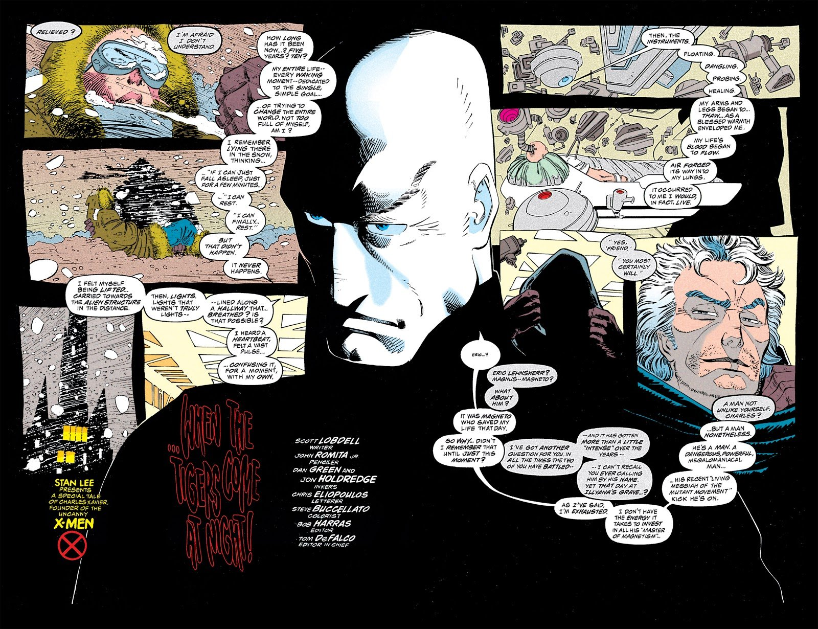 Uncanny X-Men #309 Review: The Sheer Humanity of Charles Xavier