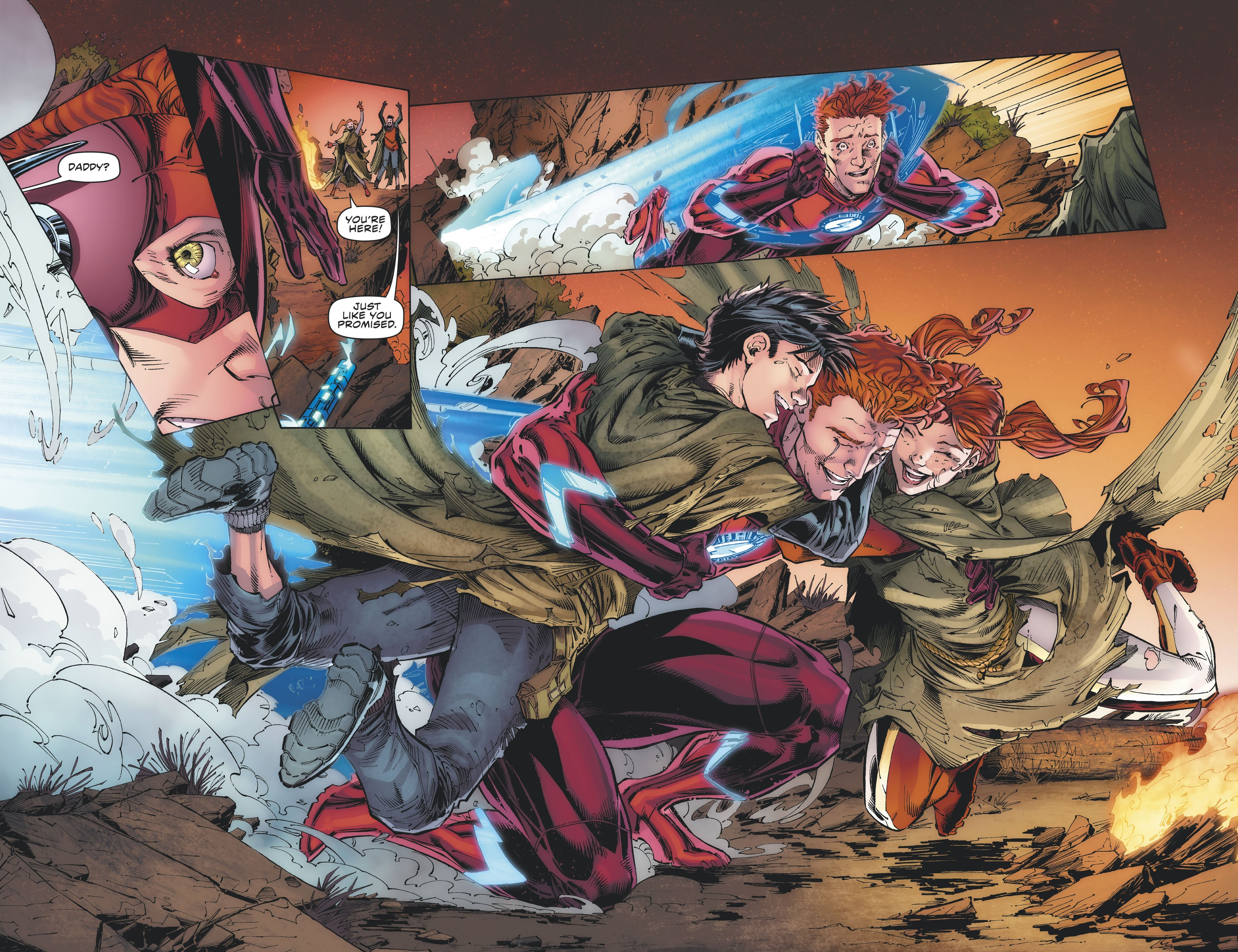 Flash Forward #4 Review by Kevin Tanza