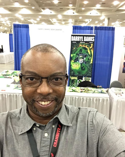 Darryl Banks Interview: Comic book artwork, and an overview of his very exciting career in the industry!