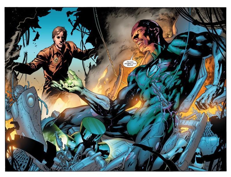Green Lantern: Secret Origin Review by Kevin Tanza