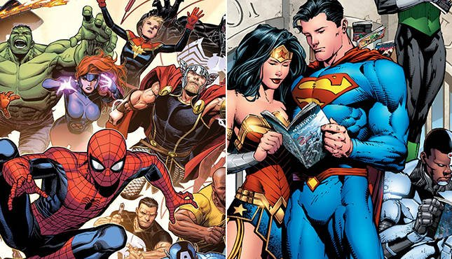 Can characters change in comics?
