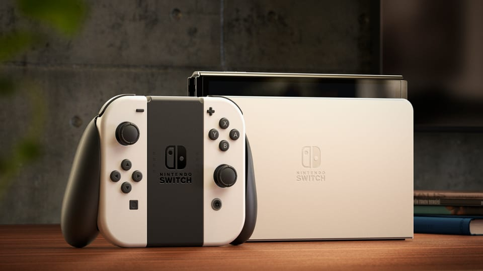 Nintendo Announces Switch OLED Model Available October 8th