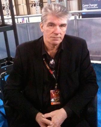 Jim Shooter at New York Comic Con - Animated Apparel Company