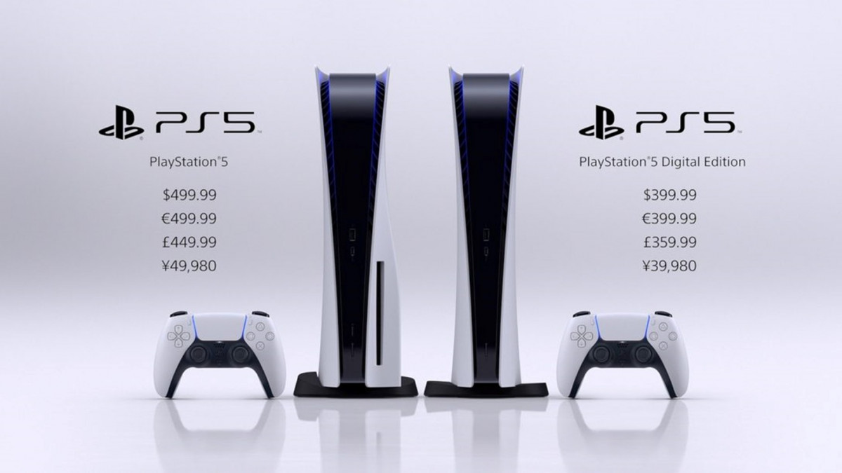 Image of PlayStation 5 Prices from the PlayStation 5 showcase