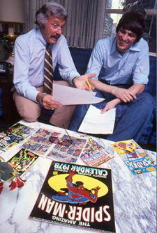 Image of Stan Lee and Jim Shooter - Animated Apparel Company