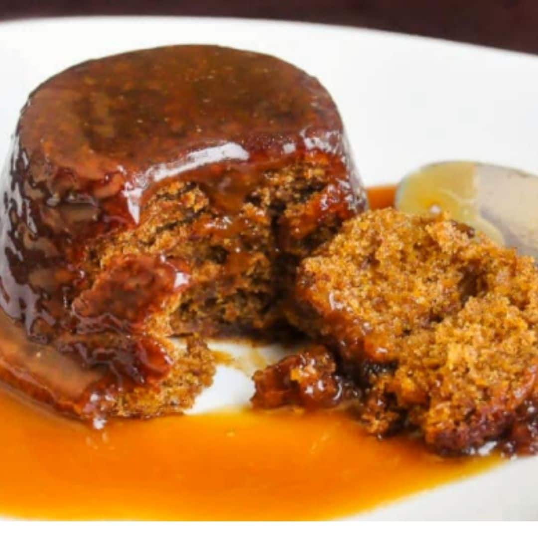Week 6 Bake OFF winner - Sticky Toffee Pudding by Alice Clarke