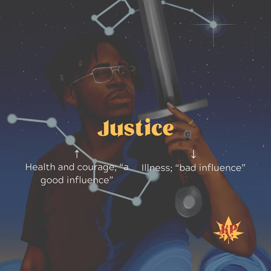 Justice | CULT Tarot Card Meaning