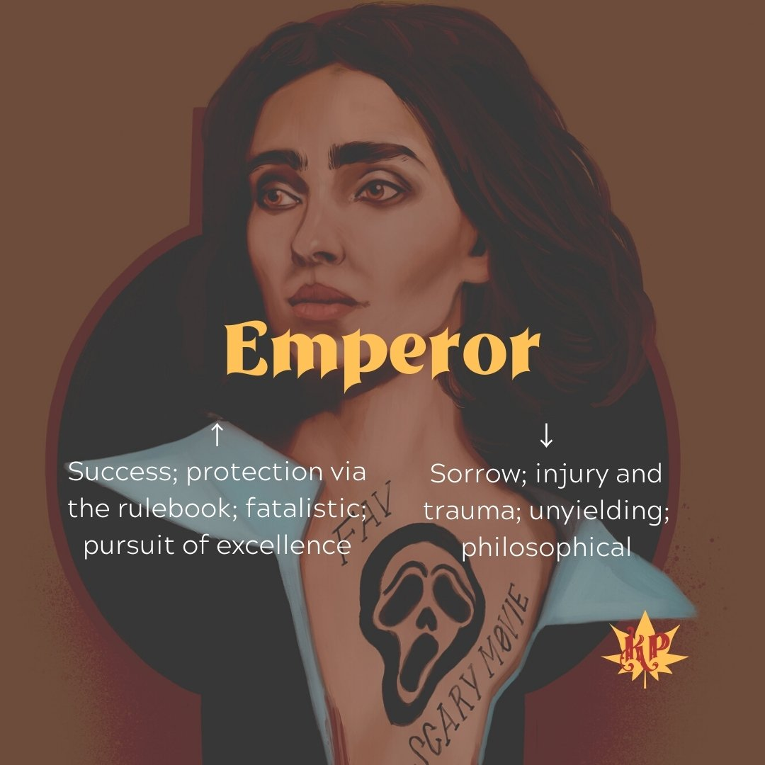 Emperor | CULT Tarot Card Meaning | The Final Girl