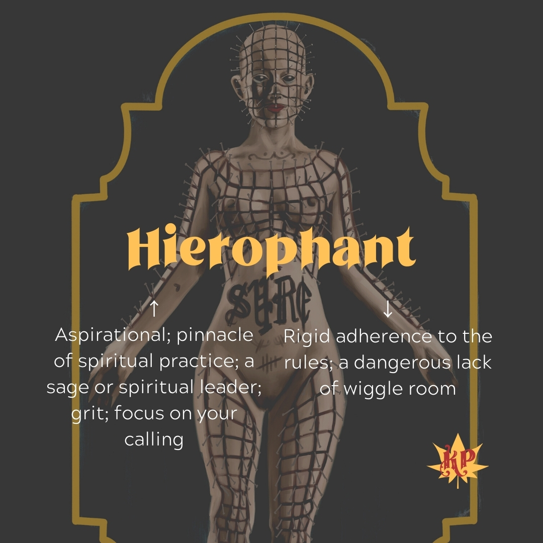 Hierophant | CULT Tarot Card Meaning | Hellraiser