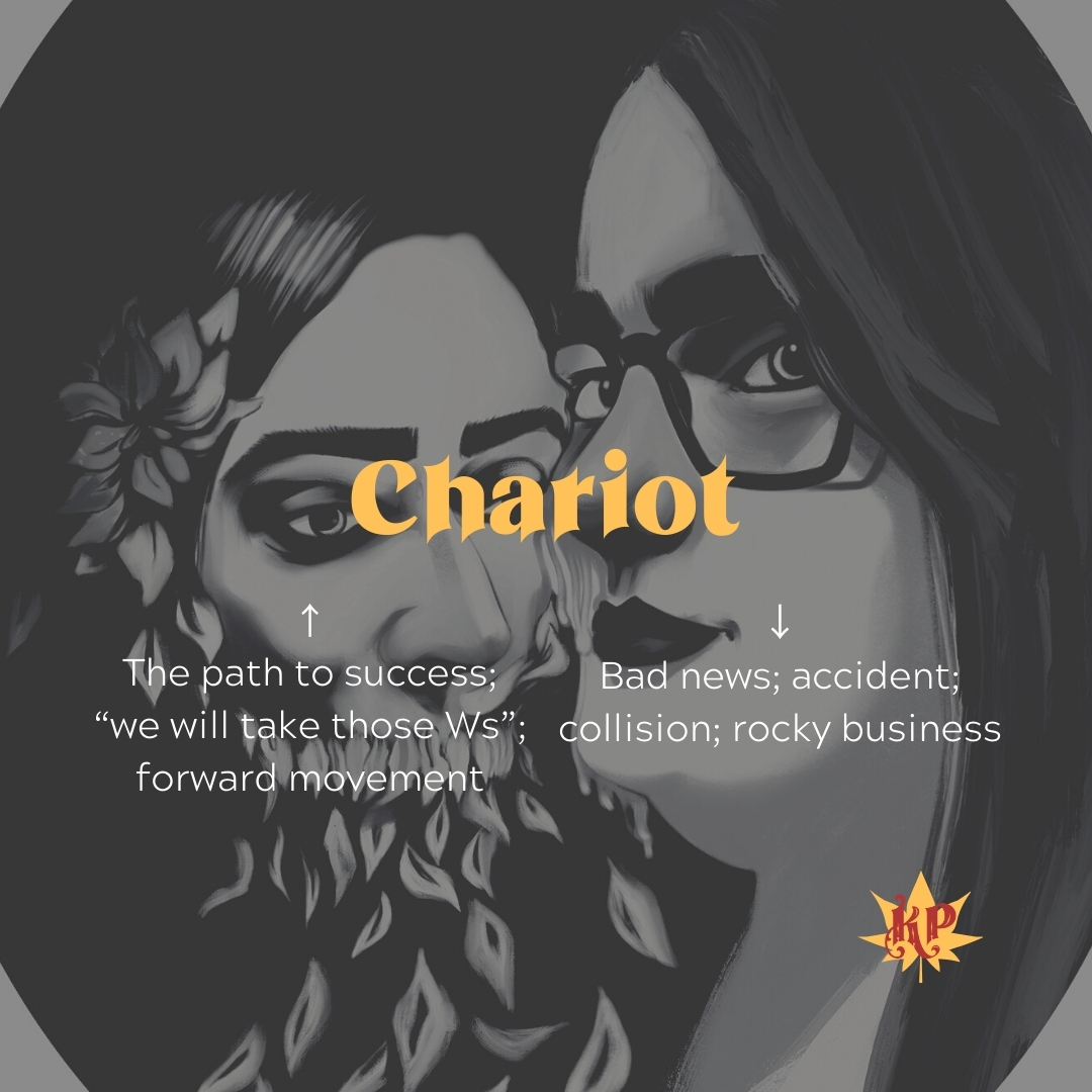 Chariot | CULT Tarot Card Meaning | Together