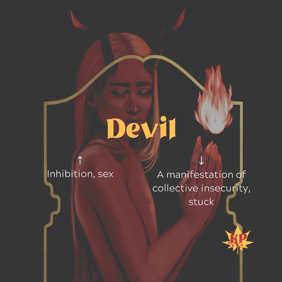 Devil | CULT Tarot Card Meaning | Freedom