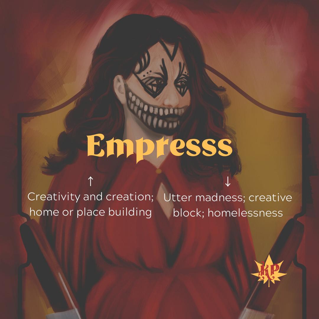 Empress | CULT Tarot Card Meaning | Mother...!