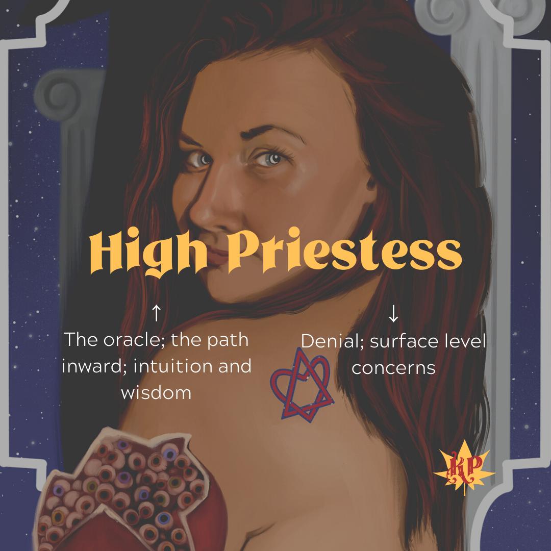 High Priestess | Oracle | CULT Tarot Card Meaning