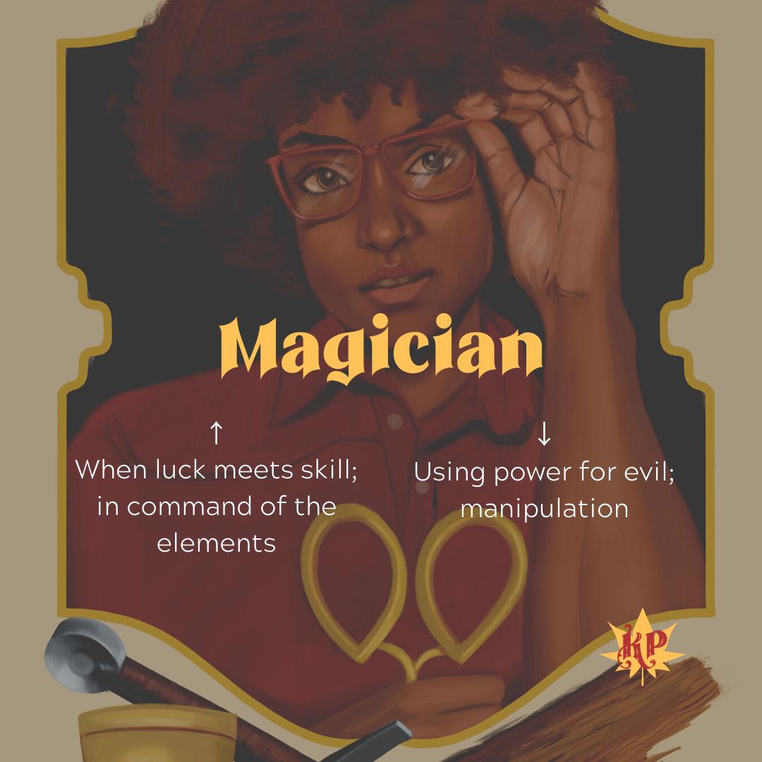 Magician | Balance | CULT Tarot Card Meaning