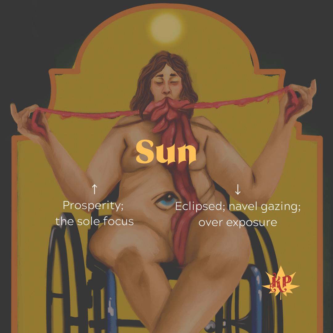 Sun | CULT Tarot Card Meaning | Ego