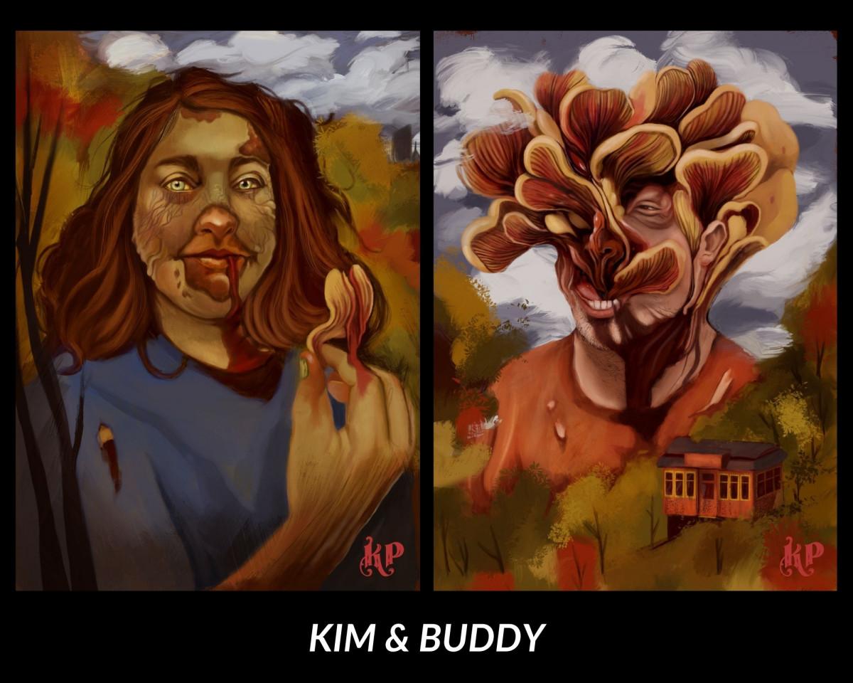 The Undead Come Alive! Zombie Portrait Commission