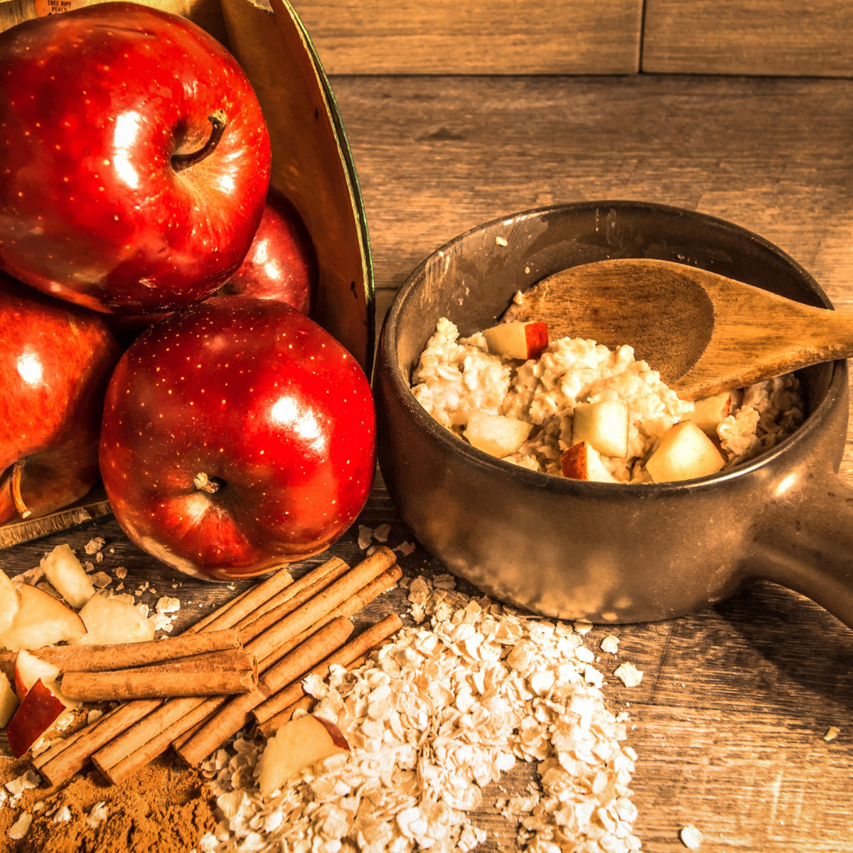 Picture Apple Cinnamon Baked Oatmeal