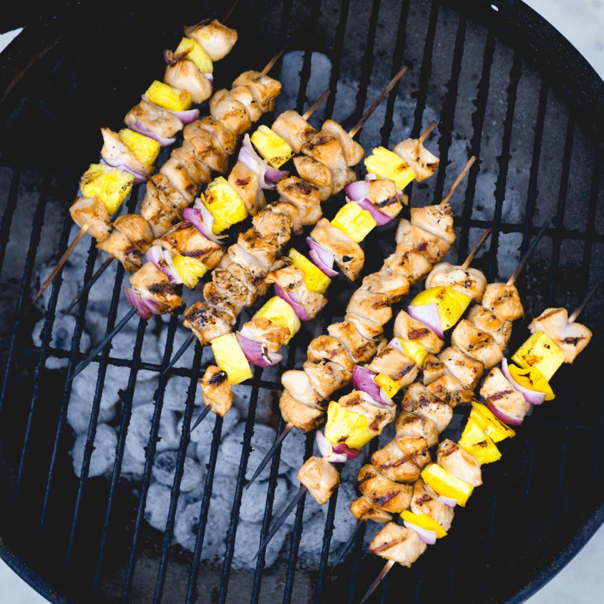 Teriyaki Pineapple Chicken Kebabs