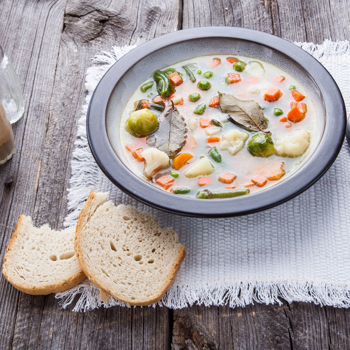 Picture Minestrone Soup with Chicken